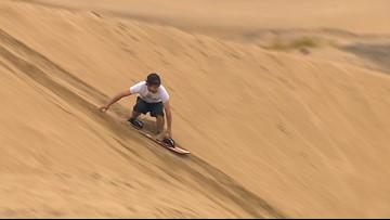 Go Sandboarding in Florence, Oregon
