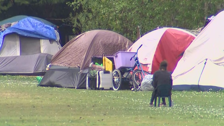 Homeless encampment on North Seattle school property draws concern from neighbors