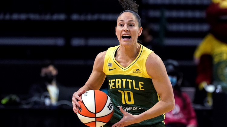 Bird reaches No. 6 on WNBA career scoring, Storm beat Sparks