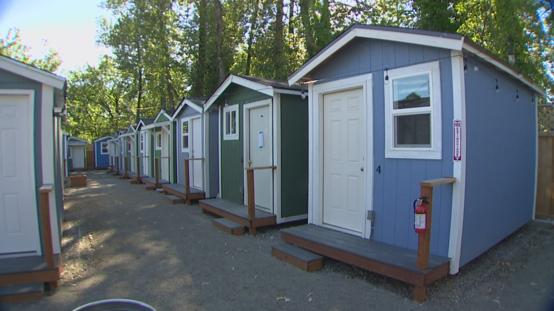 New tiny home village opens in Skyway
