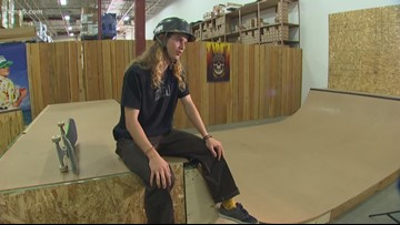 Pro skater advocates for helmets while Seattle skateboarder recovers from traumatic injury