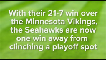 Seahawks one win from clinching a playoff spot