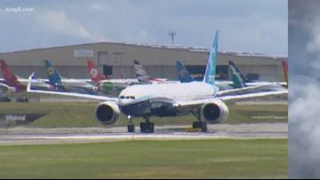 Boeing 777X stress test suspended