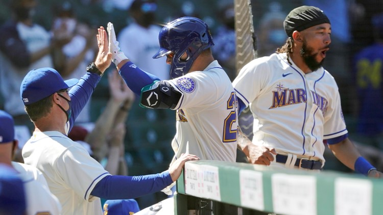 Haniger, France lead Mariners past Astros 7-2