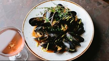 The Captain Whidbey Inn's Penn Cove Mussels Cioppino