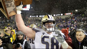 Falcons select 2 offensive linemen, including UW's McGary in the 1st round