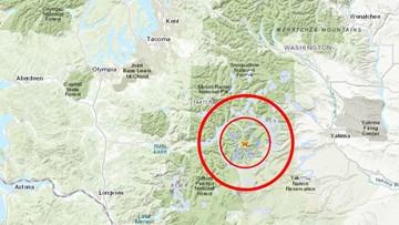 3.6 earthquake rattled near Mount Rainier National Park Sunday afternoon