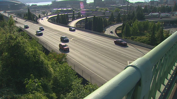 'It's very scary': I-90 commuters worried about increasing amount of debris thrown off overpasses