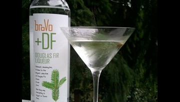 Douglas Fir Liqueur from Woodinville's BroVo Spirits tastes like a Christmas tree - in a good way
