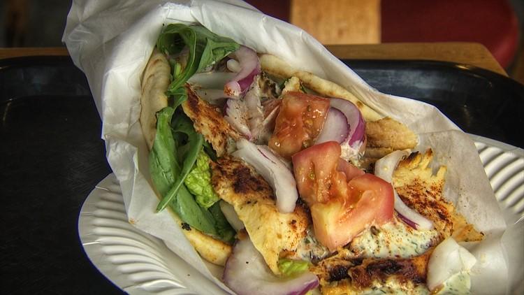 Chicken Doner Kebab at Turkish Delight