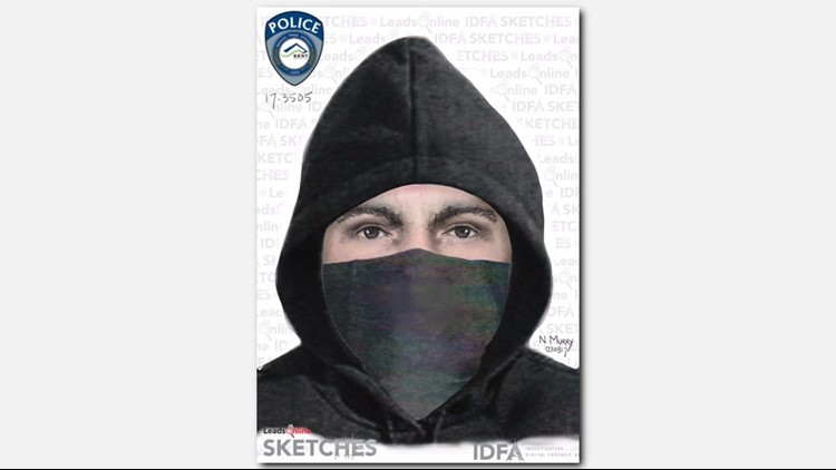Suspect sketch in the shooting of a Sikh man in Kent. (Photo: Kent Police Department)
