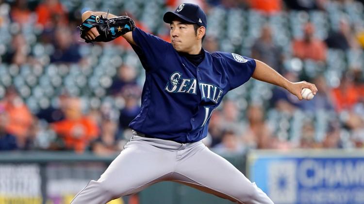 Kikuchi scheduled to start for Mariners at Dodgers