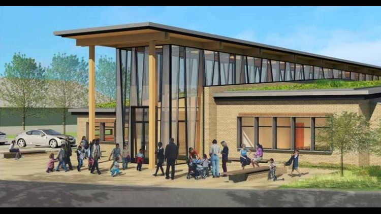 Drawings for the Family First Community Center