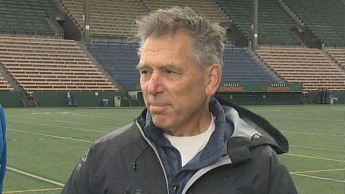 A Seattle football legend is back in the game