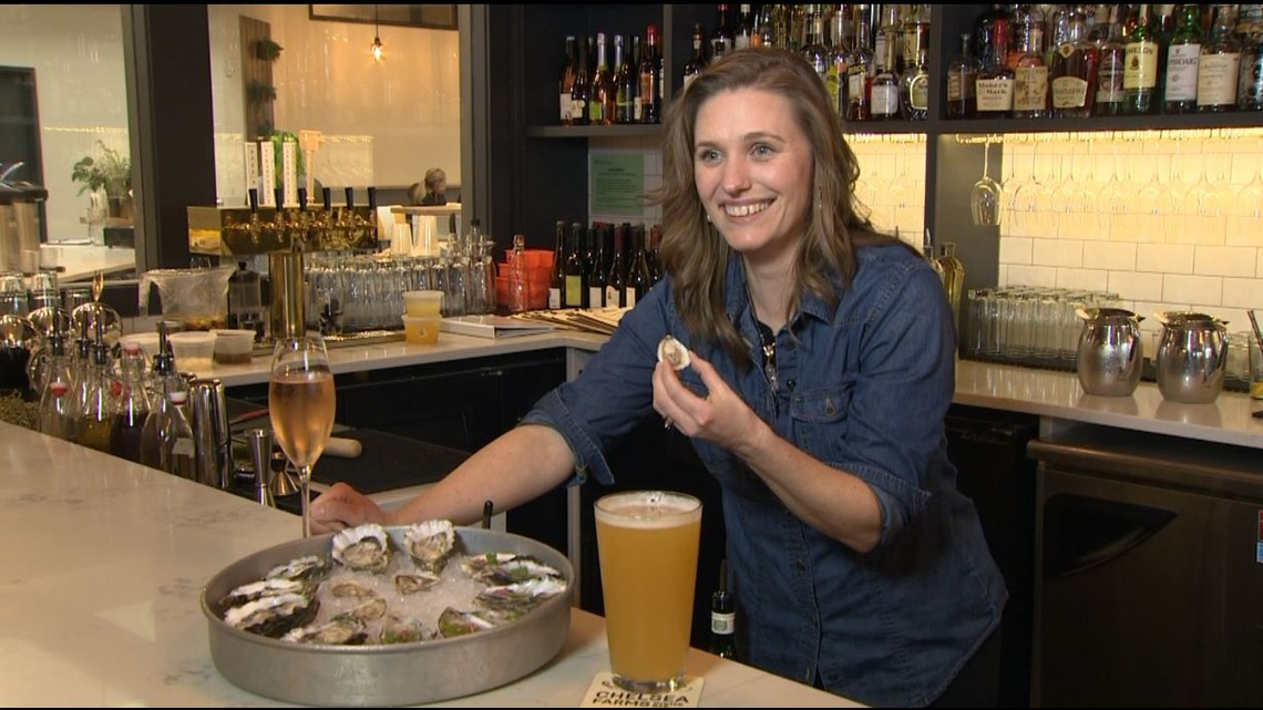 Olympia oyster bar Chelsea Farms serves hard-to-grow native shellfish