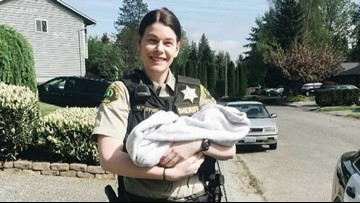 Snohomish deputy is using her rare illness to help others