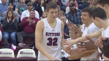 Kittitas High School basketball star Brock Ravet signs with Gonzaga