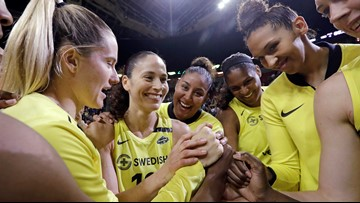 Seattle Storm fans can donate blood for 2 free tickets to a game