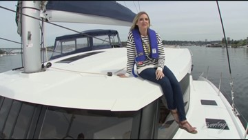 Tues, 7/9, Evening Boat in Lake Union, Full Episode, KING 5 Evening