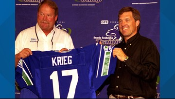 PODCAST:  Should former Seahawk Dave Krieg be in the Hall of Fame?
