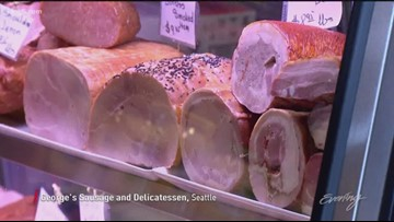Visit Poland without leaving Seattle at George's Deli - KING 5 Evening