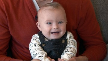 Meet Kinlin Coast: KING 5's Jordan Steele shares son's journey with Down syndrome