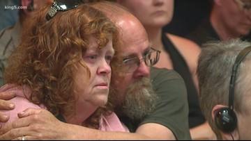 Vigil held for mother, 3 children killed in Port Angeles fire