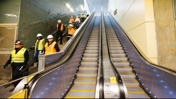 Take a look inside Sound Transit's Roosevelt light rail station that's nearly complete