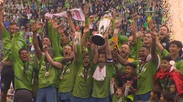 Sounders championship parade gets ready for launch