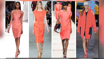 Make any outfit pop with the new color of the year Living Coral