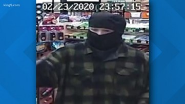 Everett police release suspect photos after store robbed twice