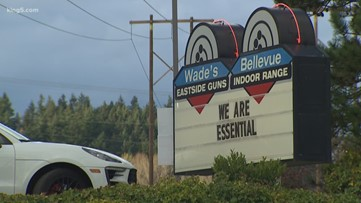 Some Washington gun shops are staying open in defiance of Gov. Inslee's order