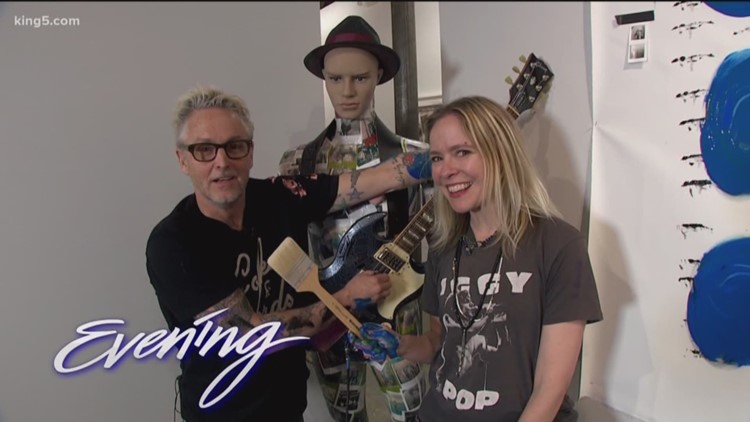 Fri 3/22, Sway - Mike McCready & Kate Neckel Exhibit, Full Episode KING 5 Evening