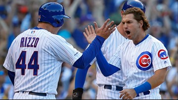 Cubs rally for 5 runs in 7th to beat Mariners 5-1