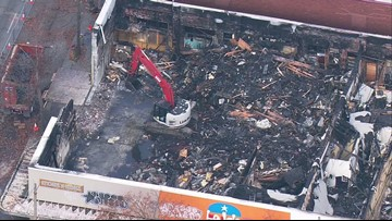 Ballard community helps businesses destroyed in major fire, building 'beyond repair'