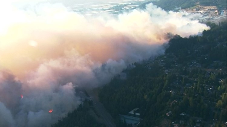Washington state Senate passes bill to prevent and fight wildfires