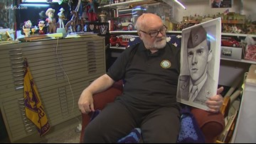 Edmonds artist has sketched 6,000 portraits of fellow military heroes