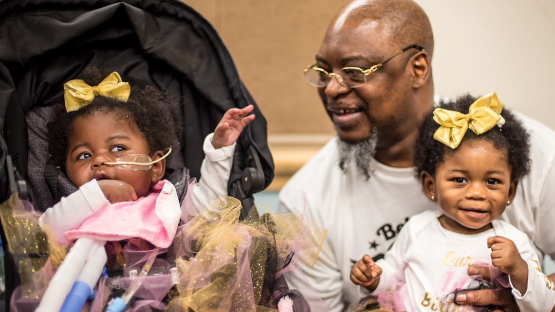 Twin born with rare disease celebrates first birthday at Seattle Children's