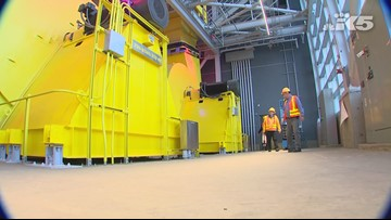 Tour of the Seattle tunnel before it opens