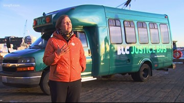 'Justice Bus' hits Seattle streets to offer legal aid for low-income individuals