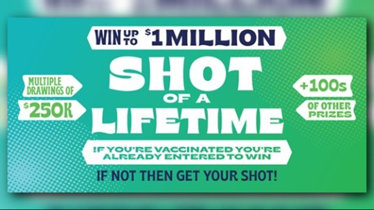 Washington introduces COVID-19 vaccine lottery with $1 million jackpot, other cash prizes