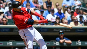 Nelson Cruz homers, has 3 RBI as Twins rout M's 10-5