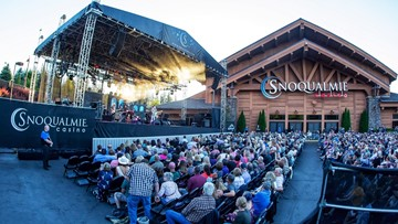 See who's playing Snoqualmie Casino this summer