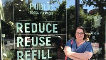 Zero-waste Seattle store offers alternatives to plastic