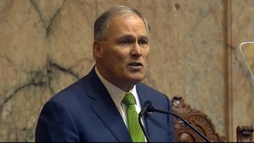 Inslee pushes for action on climate change, mental health in State of the State