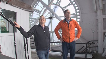 An exclusive tour of the King Street Station clock tower
