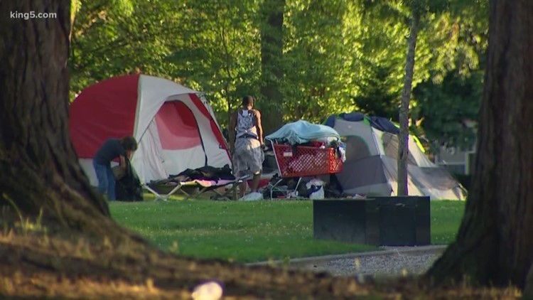 Proposed Tacoma park code would outlaw tents