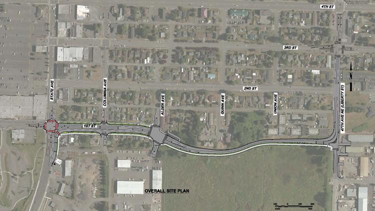 Marysville First Street Bypass