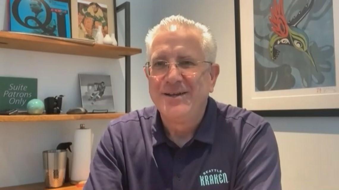 Kraken CEO Tod Leiweke on Starbucks partnership, Kraken Community Iceplex