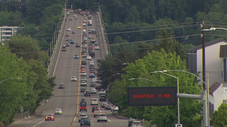 Crews to install vertical posts on Seattle's Aurora Bridge for safety assessment